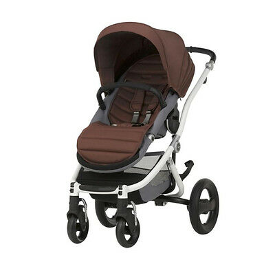 Silla de paseo Britax Affinity 2 Wood Brown marco white