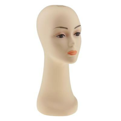15 inch Female Mannequin Manikin Head Stand Model Wig Glasses Hats Display
