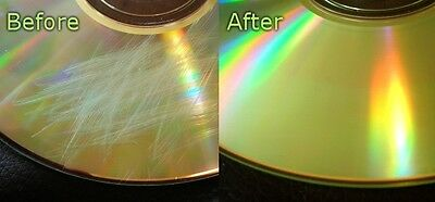 Fix Disc Repair Service & Clean Up Scratched Game Discs / DVDs /CDs PS3,PS4,Xbox