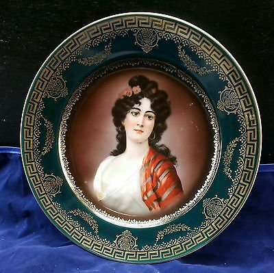 Unique Vintage Royal Vienna plate Stamped / Numbered