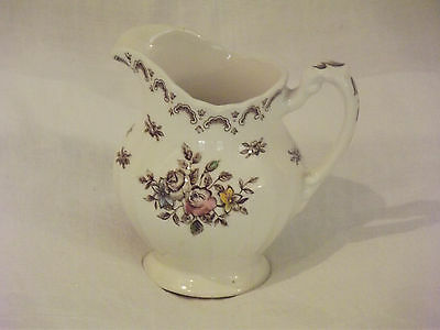 Vintage J & G Meakin England Chatsworth Multicolor Creamer -Excellent Condition!