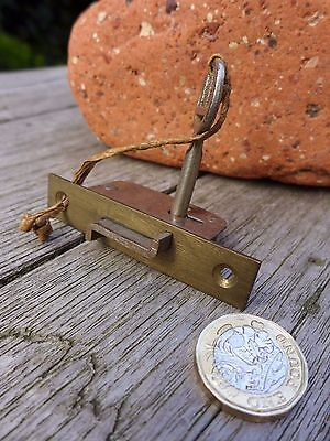 Antique Vintage Box Door Lock Storage Room Office Furniture Cupboard Project H