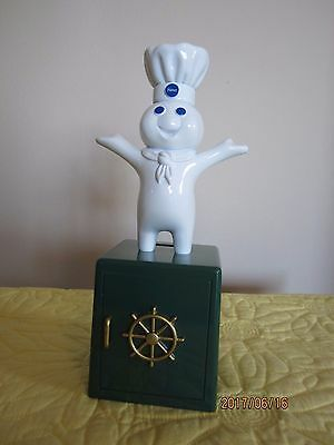 Pillsbury Doughboy 1999 Giggle Bank, Batteries Included, Works