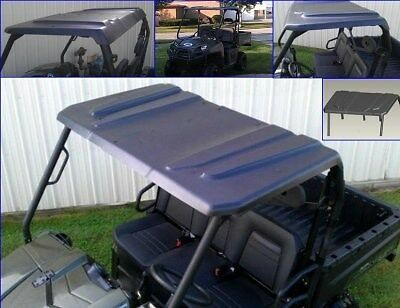 NEW Polaris Ranger 400 500  Midsize 2010-2014 Black Poly Hard Top Roof