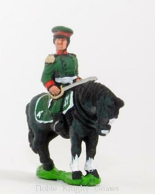 Essex Napoleonic Russian Mini 15mm Mounted Infantry Officers Pack MINT