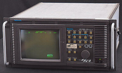Tektronix VM700A Touch Screen Waveform Monitor Vectorscope Video Measurement Set