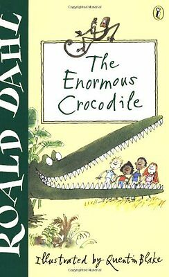The Enormous Crocodile,Roald Dahl, Quentin Blake