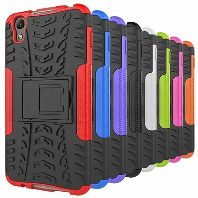 2-in-1 hybrid protective case for Alcatel phones stand armor shockproof cover