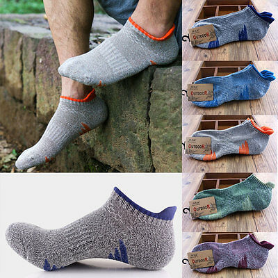 Men Women Riding Cycling Sport Socks Unseix Breathable Bicycle Footwear US STOCK