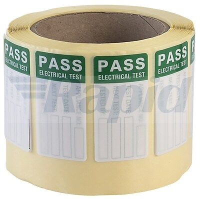 Martindale MS1 PASS Labels for Harsh Environments - Roll Of 500