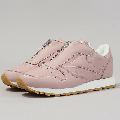 ce4aabc900b510 Reebok Classic Leather Zip shell pink   chalk   silver EU 40