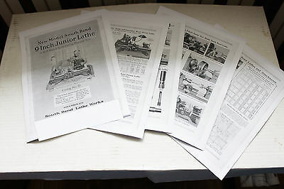 "South Bend Junior Lathe 9"" Inch Lathe 20 Page  on 9"" lathe parts & attachments"