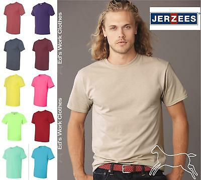 JERZEES Short Sleeve Light Colors Dri-Power Active 50/50 T Shirt 29MR Up to 5XL