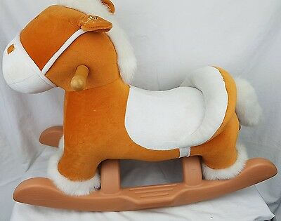 Childs Musical Rocking Horse with Horses Sounds and Music ...