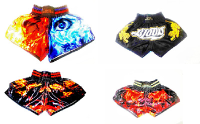 NEW Muay Thai Fight Shorts MMA Grappling Kick Boxing Trunks Martial Arts UFC BOX