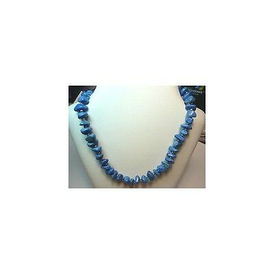 Turquoise Collier De 500 Carats Aaa+ 50 Cm