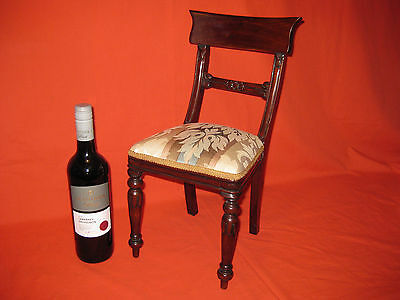Beautiful Antique Apprentice Handmade Mahogany Chair.