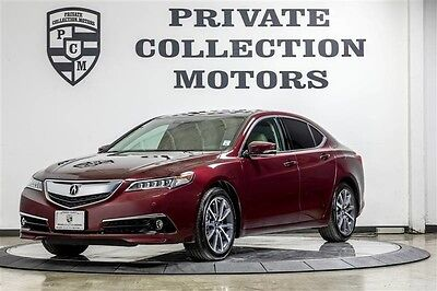 2015 Acura TLX  2015 Acura TLX V6 Advance Highly Optioned 1 Owner Clean Carfax