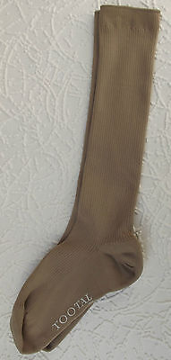 TOOTAL bulked nylon socks Vintage 1950s UNUSED Small mens size IMPERFECT