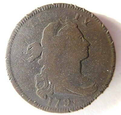 1797 Draped Bust Cent S-136 R-3