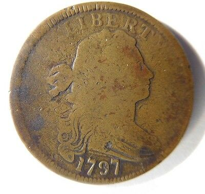1797 Draped Bust Cent S-135 R-3