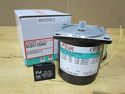 Sesame Induction Motor 4Ik25Gn-C 1Ph 220V