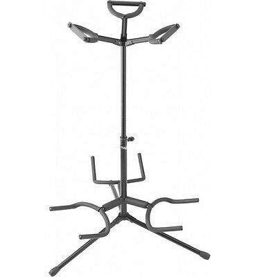 Stagg SG-A300BK - Stand triple pour guitares