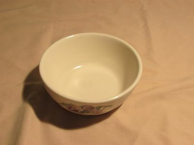 Pfaltzcraft Bowl With Yellow  And Purple Fruit