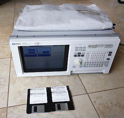 HP AGILENT 1662e 1662E Logic Analyzer Analysis System w/Cables - Nice!
