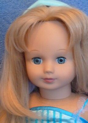 Gotz Doll Blonde hair Blue eyes Stolle 18""