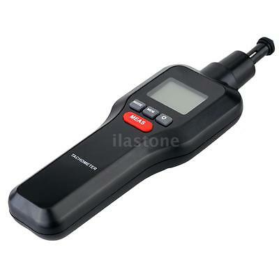 Handheld Non-contact & Contact Digital Laser Tachometer Motor Tach RPM Tester