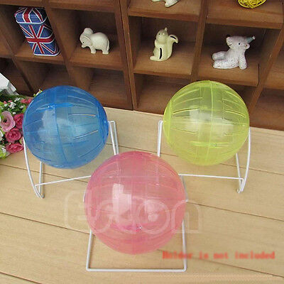 Small Pet Animal Hamster Gerbil Toys Running Ball Activity Exercise Play UK