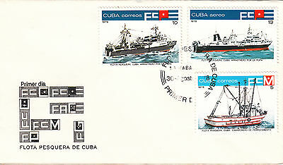 (20910) FDC - Fishing Boote 1978