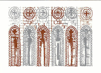 (20050) Ely Kathedrale - Royal Mail 1989 Weihnachtskarte GC1(b)