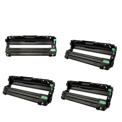 4PK DR221K C M Y Drum Cartridge For Brother HL-3170CDW MFC-9330CDW