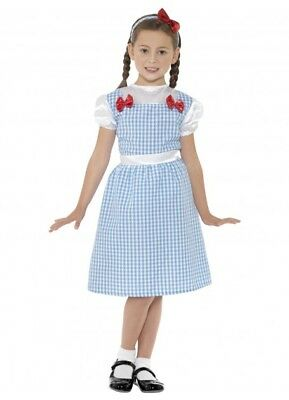 Dorothy Child Costume Wizard of Oz Book Week 2 Sizes Country Western Girls Kids