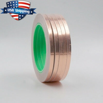 Copper Foil Tape - 1/4in x 28yds  -  EMI Conductive Adhesive