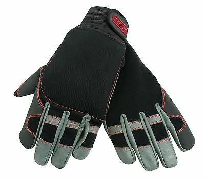 Oregon Fiordland Chainsaw Protective Gloves - Reinforced Leather - M - XL 295395
