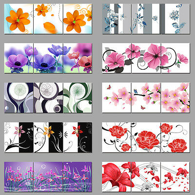 Modern Abstract Wall Art Painting Pictures on Canvas Flowers Home Decor Unframed