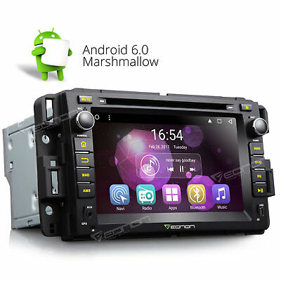 Bluetooth Car DVD Navigation Android 6.0 GPS Radio for Chevrolet Avalanche GMC A