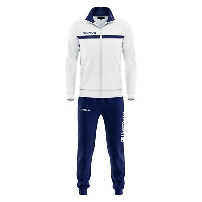 Tuta Givova One Full Zip Allenamento Squadre Team Sport Training