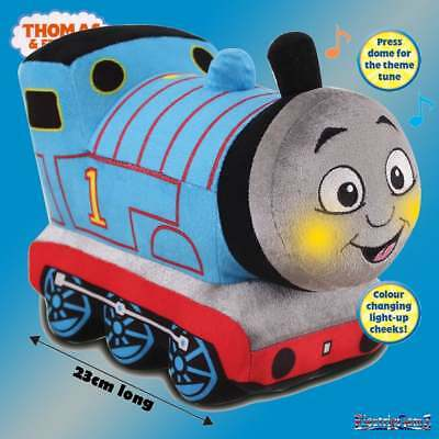 Thomas & Friends Glowing Musical Thomas Plush Soft Toy with Theme Tune & Sounds