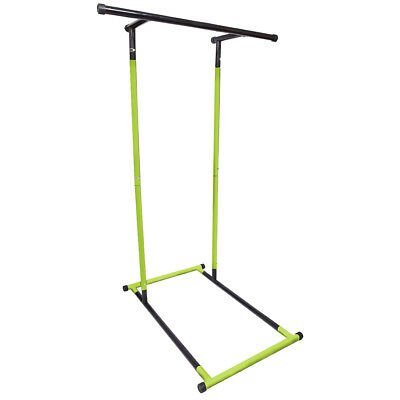 Pull-Up Bars Dip Station Freestanding Outdoor/Indoor Home Fitness Workout Man