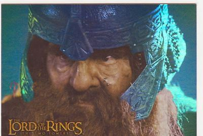 Lord Of The Rings TTT Prismatic Foil Chase Card 8 Of 10