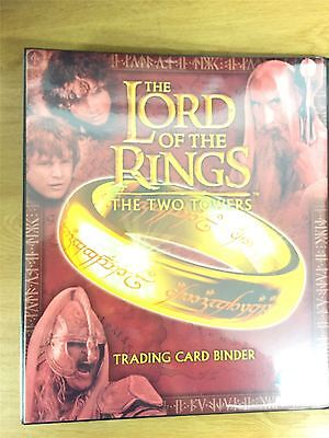 Lord Of The Rings The Two Towers UK Exclusive Official Topps Binder