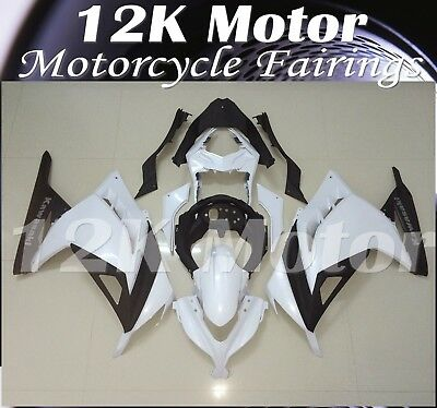 Fairings Set Kit For KAWASAKI NINJA300 2013 2014 2015 2016 Plastic 17 WHITE