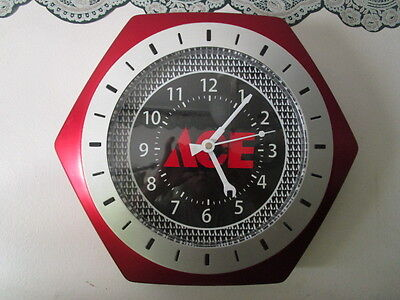 Ace Hardware Store Dealer Advertising Wall Clock