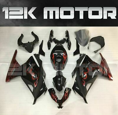 KAWASAKI NINJA300 NINJA 300 2012 2013 2014 2015 2016 2017 Fairings Set Kit 28