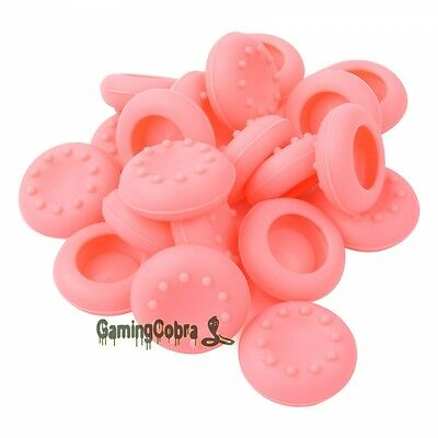 20 PCS Silicone Pink Joystick Thumb Stick Grip Cap for Xbox One Controller