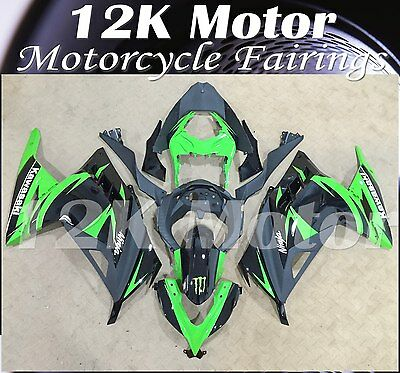 Fairings Set Bodywork Kit For KAWASAKI NINJA300 2013 2014 2015 2016 Green 32